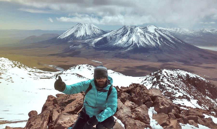 Cumbre del Cerro Toco