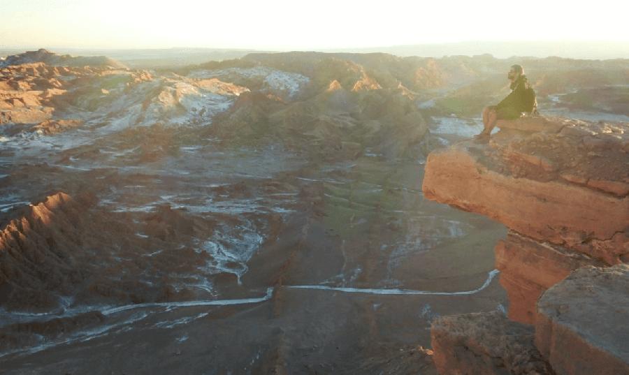 Piedra del Coyote, Valle de la Luna
