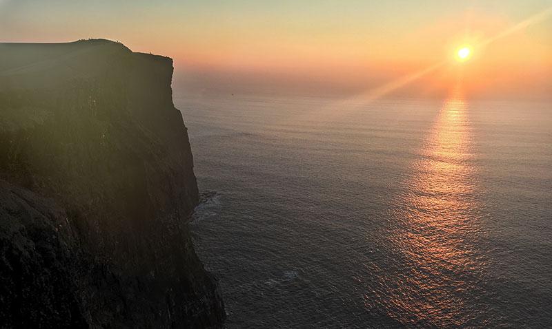 Cliffs of Moher Sunset