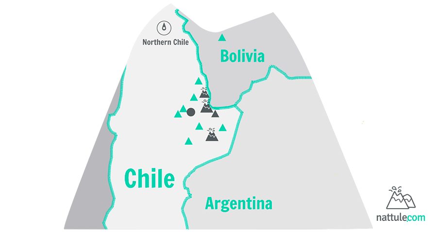 """3 Volcanoes and a Little  """"Something Else"""" in the Atacama Desert of Chile"""