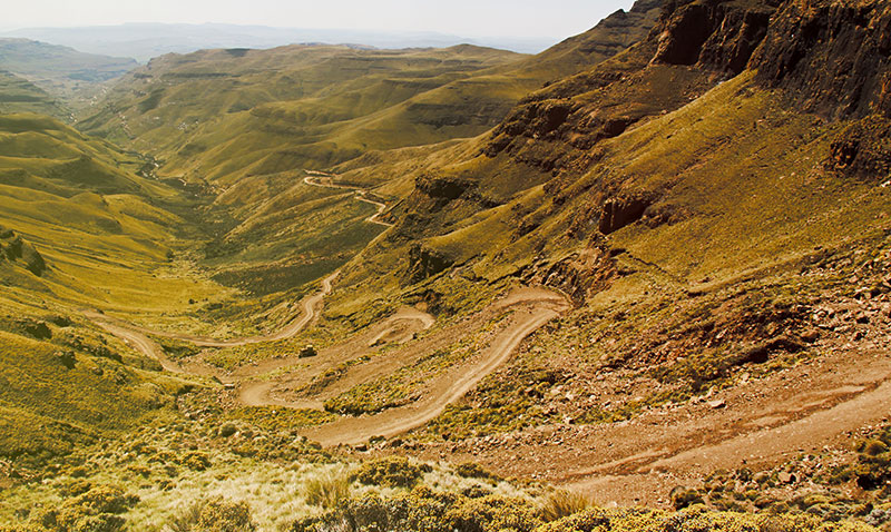 Views Sani Pass