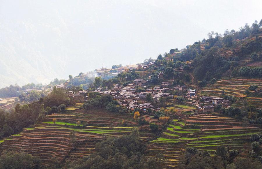 Terrazas de Ghurjung