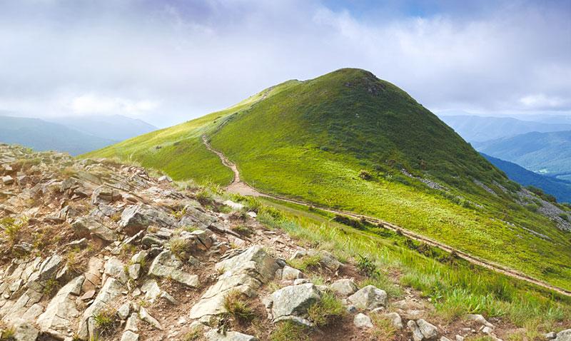 Vista del pico Tarnica