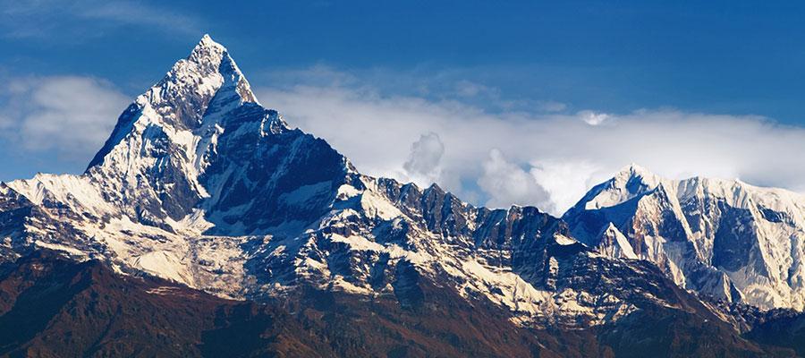 Vistas del Machapuchare desde Annapurna