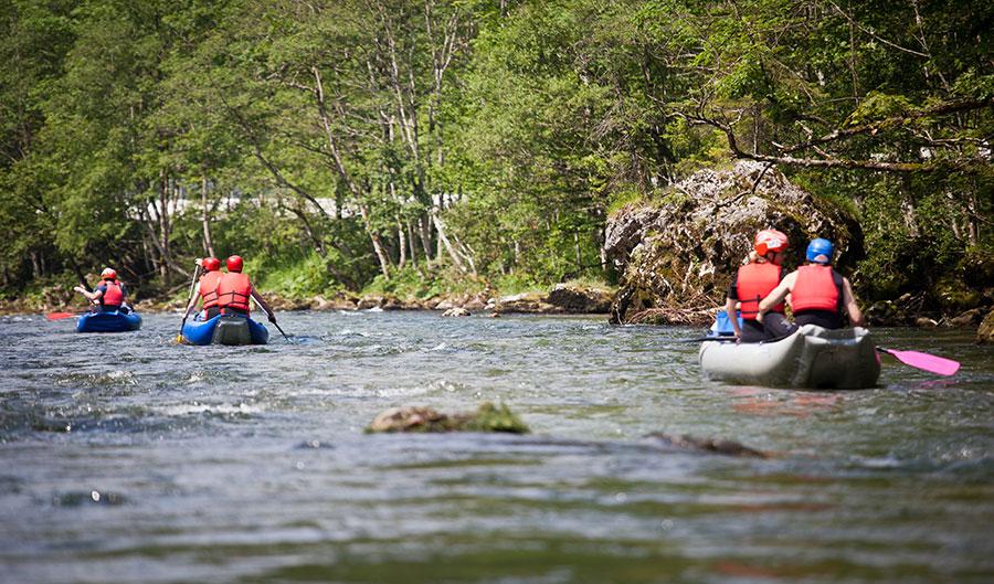Una tranquila travesía en kayak