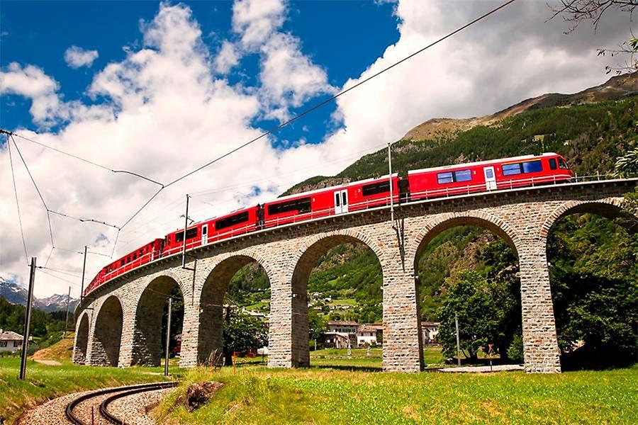 Viaducto de Brusio: un prodigio arquitectónico en Suiza