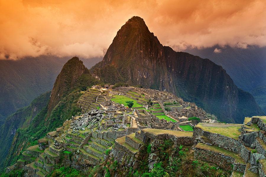 La ciudad inca de Machu Picchu