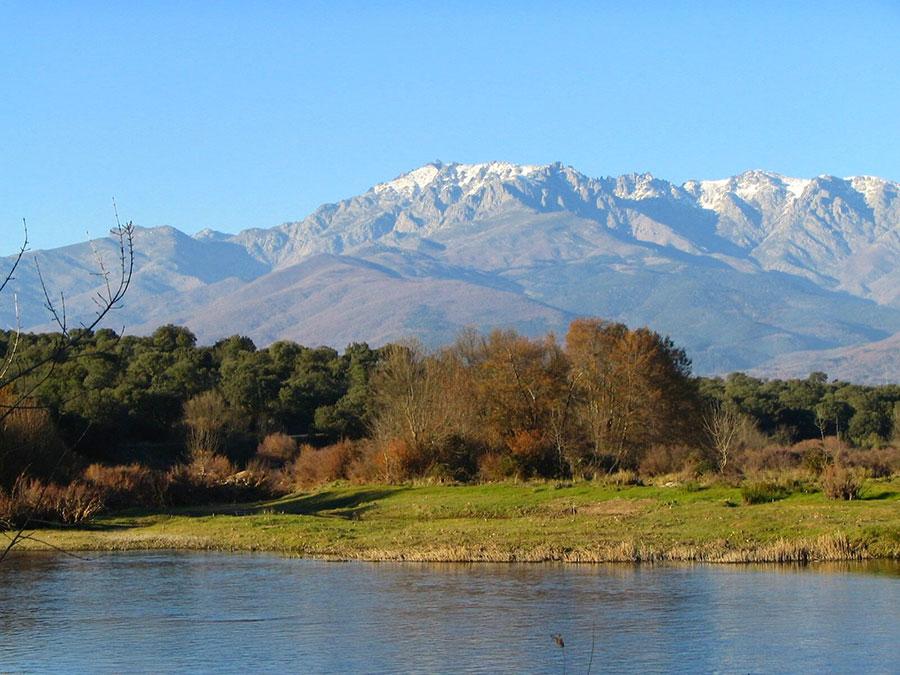 Las montañas de la Sierra de Gredos