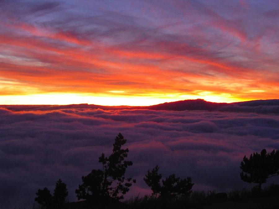 Atardecer en Sierra Nevada