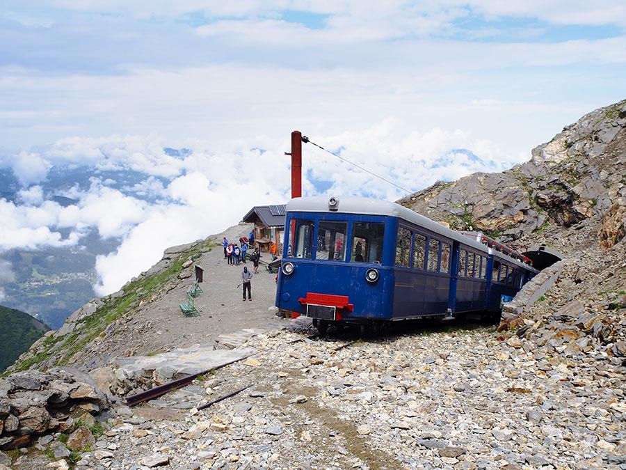 Tranvía en Mont Lachat
