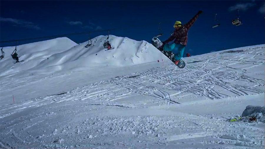 Snow en los Pirineos aragoneses