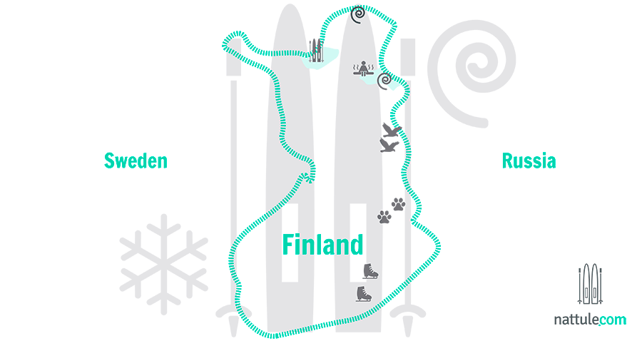 6 Northern Light Adventures in the Land of a Thousand Lakes: Finland