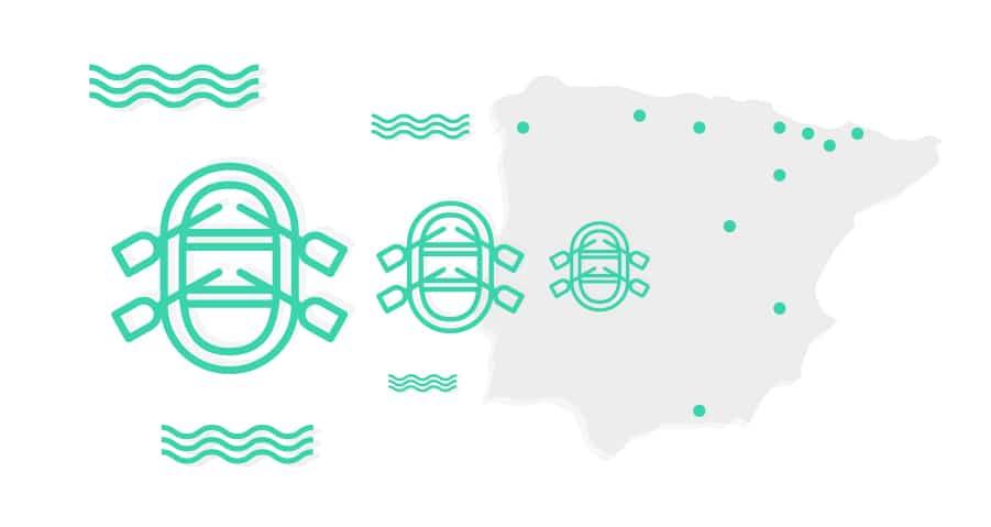 Las aguas más rápidas de España: ¿dónde puedo encontrarlas?