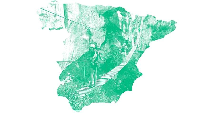 10 desfiladeros de España para plantarle cara al vértigo
