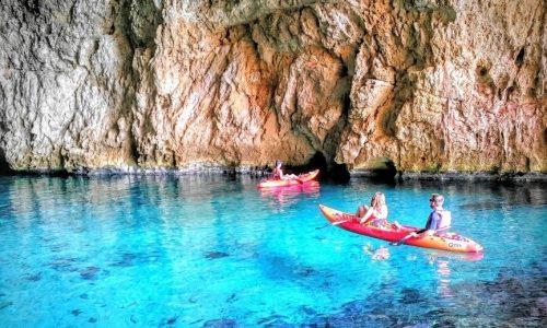 cuevas kayak